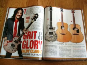 Vintage Guitar magazine ran a feature on Gilby Clarke. In his interview he talks a lot about his Zemaitis Guitars.