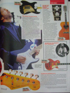 """UK national newspaper The Mail on Sunday had a very interesting article on Eric Clapton. It included his famous 12-string """"Ivan the Terrible"""""""