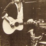 Bob Dylan with Zemaitis 6-string Acoustic Guitar