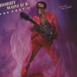 Bobby Womack's Poet II album cover with his Zemaitis Metal Front