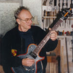 Tony Zemaitis in Chatham Workshop in 1990's