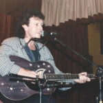 Donovan with Blue Moon Zemaitis Acoustic Guitar