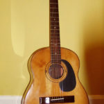 Early (1961) Zemaitis Acoustic owned by Brian Cullen (Tony's brother-in-law)