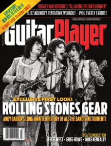 Rolling Stones Gear published, featuring old and new Zemaitis guitars.