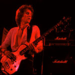 John Waites of The Babys with his Zemaitis bass