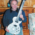 Tony Zemaitis with a Pearl Front Guitar