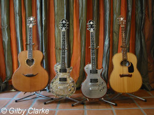 Gilby Clarke's Zemaits Guitars Collection