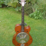 Zemaitis Resonator Guitar - made for Ronnie Lane & now owned by Keith Smart, Z-Club Chairman